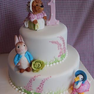 Beatrix Potter 1st Birthday