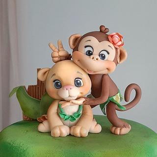 Zoo - Cake by Couture cakes by Olga