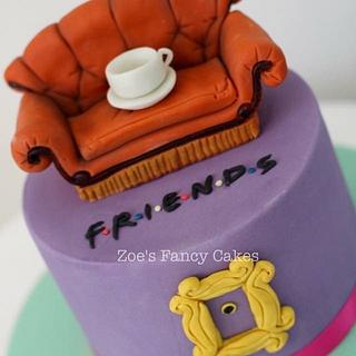 Friends-I'll Be There For You - Cake by Zoe's Fancy Cakes