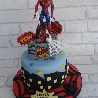 Spider love - Cake by SweetCakeaholic1