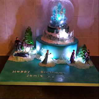 My first frozen cake xx