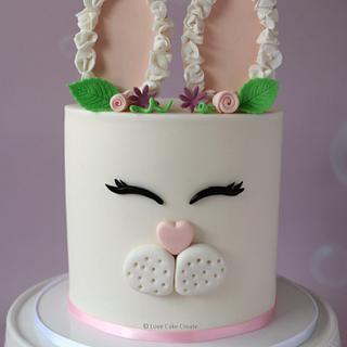 Easter Bunny Cake Tutorial