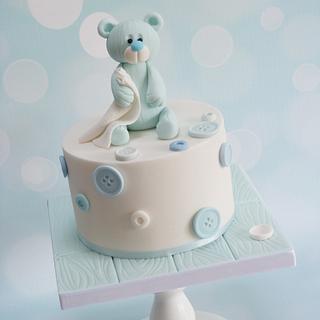 Cute Teddy Cake