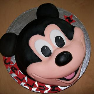 Mickey Mouse - Cake by ldarby