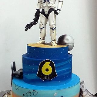 clone trooper cake