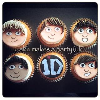 1 Direction cupcakes