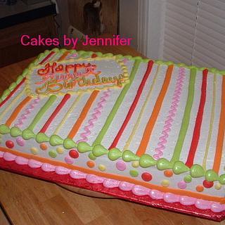 Festive - Cake by Jennifer C.