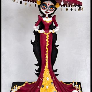 The Queen of Death @Sugar Skull Bakers 2017