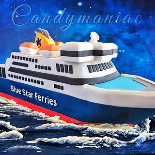 Ferry boat cake