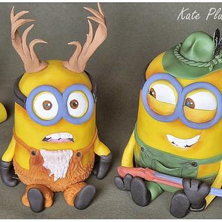 Minion hunter and stag