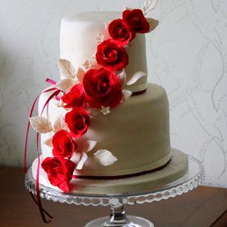 wedding cake - Cake by Jiřina Matějková
