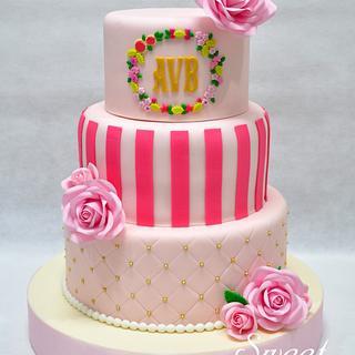 Secret Garden / Victoria Secret Cake - Cake by Sweet Success
