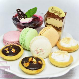 Mini deserts - Cake by Lenka Budinova - Dorty Karez