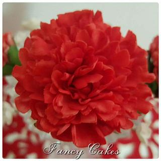 My first carnation flower