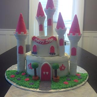 Castle Cake for my Princesses