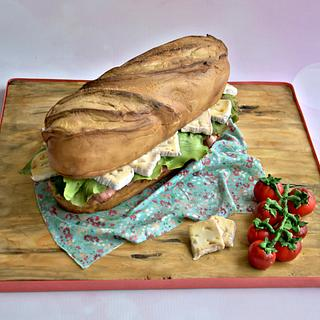 French Baguette Cake