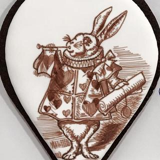 Lewis Carroll - Alice in wonderland rabbit