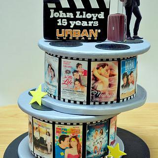 Movie Cake for John Lloyd Cruz