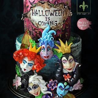 Halloween cake by crin.sugarart