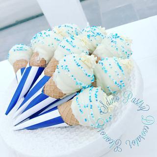 Ice cake pops