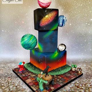 x BIA Cosmic Cake x - Cake by Sugar Chic