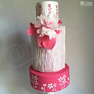 Pink Japan - Cake by maria antonietta motta - arcake -