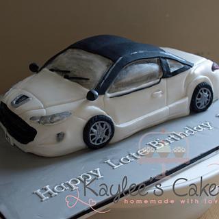 Peugeot Car cake  - Cake by Kaylee's Cakery
