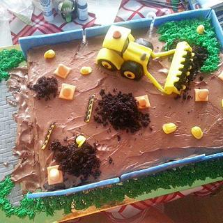 Excavator cake - Cake by Gabriela Angelova