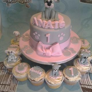 cute doggies - Cake by Cakes galore at 24