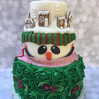 """Christmas Cakes....the more the """"merrier""""... Merry Christmas..."""
