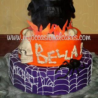Cauldron 16th bday cake - Cake by Occasional Cakes