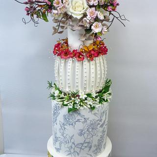 Ian Stuart.Mother of the Bride - Cake by Calli Creations