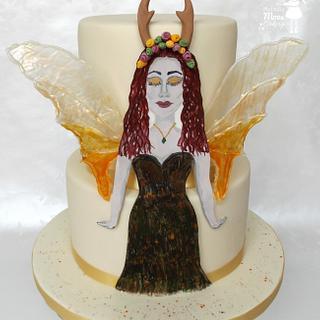 Aria the Autumn Fairy - Woodland Fairies Collaboration