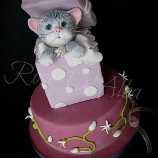 Little cat cake