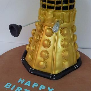 3D Dalek Birthday Cake