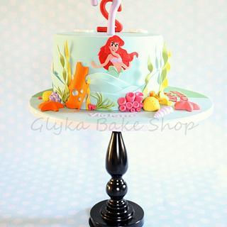 Dual Theme/Dual Birthday Cake