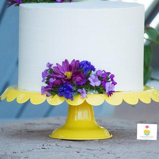 Pretty in Purple Cake - Cake by SugarBritchesCakes