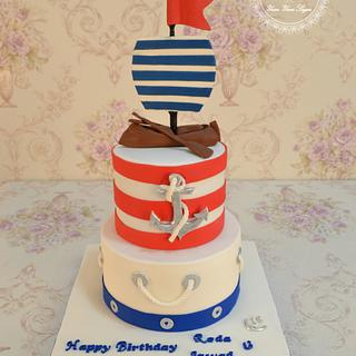 Sailor Birthday cake