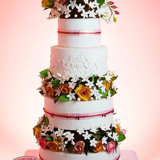 Wedding Cake - Cake by Açúcar com Arte