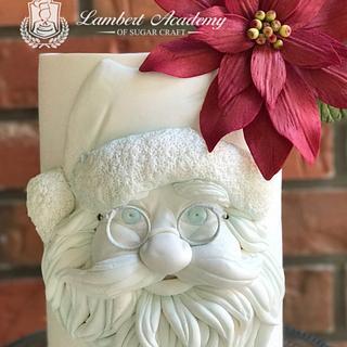BasRelief Santa