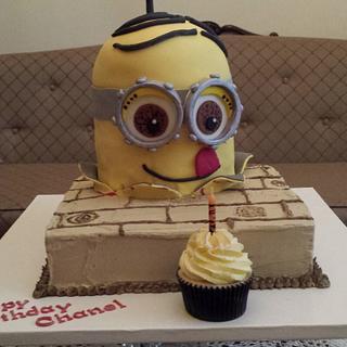 Cupcake loving Minion