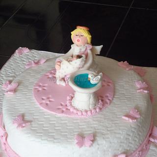 Baptism.... - Cake by MySignatureCakes
