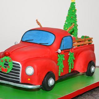 Santa's 1952 pickup truck