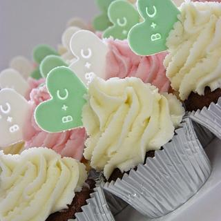 Personalized Mini Cupcakes