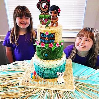 The Sunshine Girls and Moana Cake - Cake by Ann-Marie Youngblood