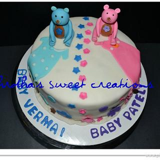 Pink & Blue - surprise baby shower