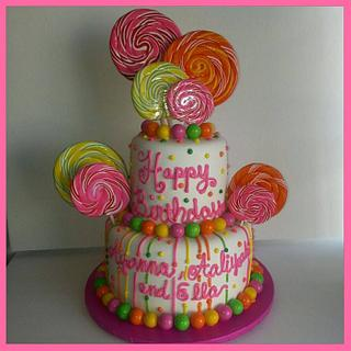 Bright Candy Cake