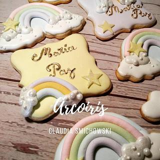 Arco iris - Cake by Claudia Smichowski