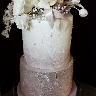 wedding cake for Veronika and Peter