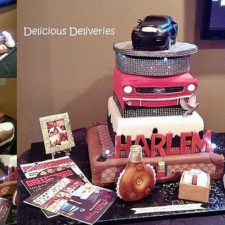 Story Board Birthday Cake